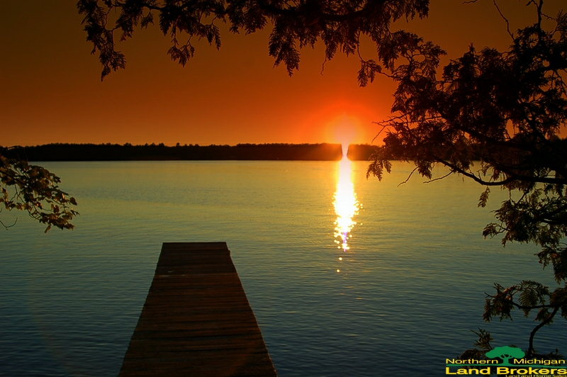 Sunset - Farmers Lake - Marquette County2